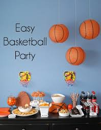 basketball party ideas easy basketball party reese s peanut butter cup dip endlessly