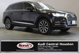 audi suv houston 2017 audi q7 for sale in baytown near houston tx stock lhd000058