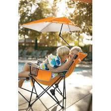 Sports Chair With Umbrella Sport Brella Recliner Chair Orange Fitness U0026 Sports Outdoor