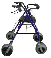 senior walkers with wheels walker this one is lightweight aluminum and foldable for