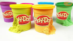 how to make play doh box using kinetic sand crafts for kids