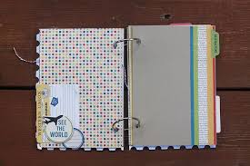 travel photo albums october afternoon travel mini album with hufford