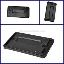 lexus f sport black steel license frame new adjustable folding motorcycle license plate holder tail light