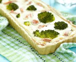 cuisiner le brocolis marmiton quiche aux brocolis et au jambon recette de quiche aux brocolis