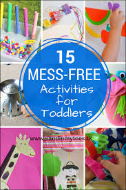 15 mess free activities for toddlers sand in my toes