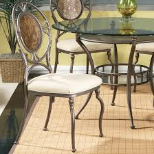 bassett mirror cameo glass top round dining table flap stores