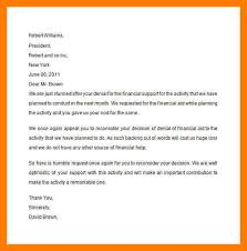 financial aid appeal letter financial aid appeal letter this will