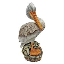 design toscano side pier 51 pelican statue reviews wayfair
