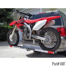 motocross bike trailer add a bike hauler hitch mounted dirt bike carrier discount ramps
