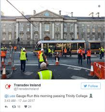 converter luas ding ding ding the luas has taken its first trip across o connell