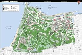 Map Of San Francisco by Presidio San Francisco Map Michigan Map