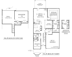 2 Bedroom 2 Bath Floor Plans Preferential 79 1 Story House Plans Also Home Single 1 Story House