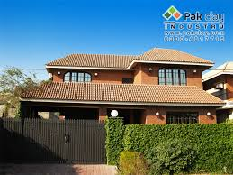 glazed terracotta roof tiles flat roof pictures