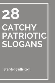 patriotic slogans on meaning of patriotic american
