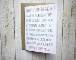mum birthday card etsy