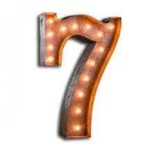 marquee numbers with lights last call marquee lights