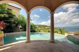luxury villa rental close to the beach on st john