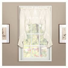 Lace Trim Curtains Lace Trim White Curtains Drapes For Window Jcpenney