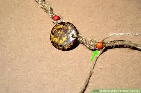 hemp necklace pendants images How to make a hemp necklace with pictures wikihow jpg