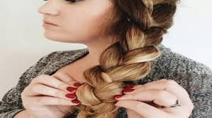 stylish side braid hairstyles for long youtube