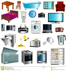household furniture furniture and appliances royalty free stock image image 32022796