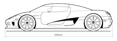 koenigsegg car drawing koenigsegg ccx hires smcars net car blueprints forum