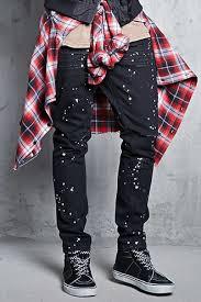 Forever 21 Ripped Jeans Slim Men Forever21