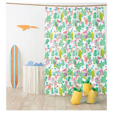 Bright Shower Curtain Extremely Creative Bright Shower Curtains Parakeet Paradise