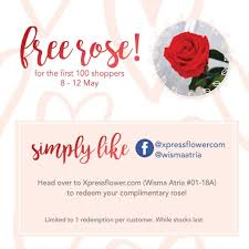 10 12 may 2017 xpressflower mothers day free roses special