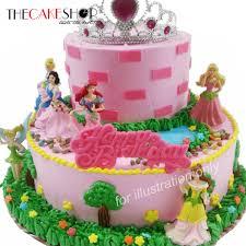 Cake Decorating Singapore Princess Tiara Cake Delivery Singapore