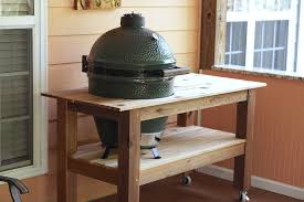 Green Egg Table by Big Green Egg Table Archives Blood Sweat And Sawdust
