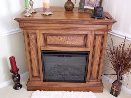 inspirations electric fireplace with mantel for interior heater