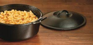 lodge dutch oven table lodge p10d3 seasoned cast iron dutch oven product review