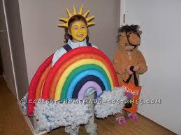 beautiful homemade rainbow costume rainbow costumes halloween