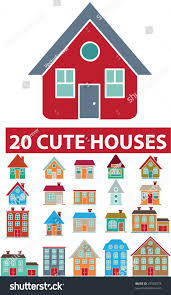 Cute House by 20 Cute Houses Vector Stock Vector 47953573 Shutterstock