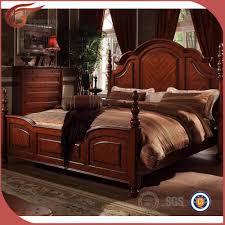 set de chambre bois massif bois massif chambre ensemble royale mobilier de chambre de luxe