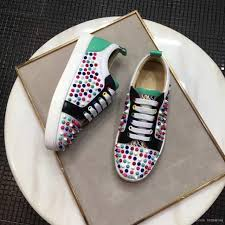 elegant low top sneakers red bottom shoes women men trainers