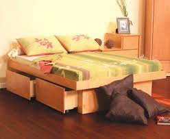 platform bed with storage underneath simple ideas platform bed