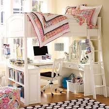 Bunk Bed With Desk Bunk Bed Desk For Girls Full Kids Bunk Beds - Girls bunk bed with desk