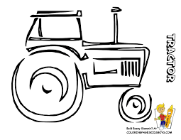 childrens colouring in farm tractor diy of all kinds