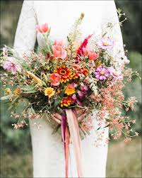 wedding flowers pink wildflower wedding bouquet 15 ideas for the to be