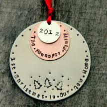 18 handmade ornaments
