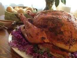 this week on food the thanksgiving show bbq turkey