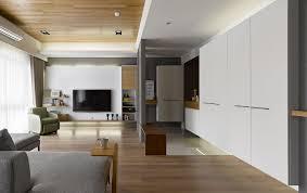 liu u0027s warm wooden apartment in taipei city by hoya design