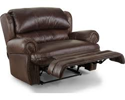 Reclining Chair And A Half Leather Hancock Snuggler Recliner Recliners Lane Furniture Lane