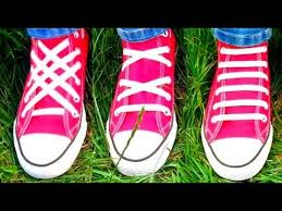 Shoo Hai O top 3 ways to lace shoes tutorial of 3 best shoe lacing