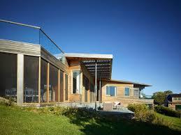 Contemporary Farm House Hillside Delight Contemporary Farm House Takes Shape On Martha U0027s