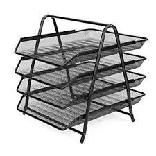 Paper Organizer For Desk Flexzion Desk Document File Organizer Tray Desktop
