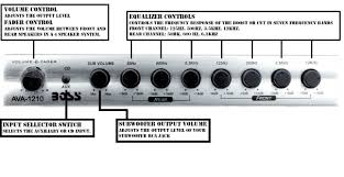 7 band preamp equalizer with subwoofer output amazon co uk