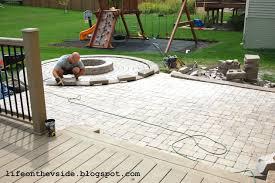 Brick Paver Patios How To Do A Patio Yourself Brick Paver Patio Steps How To Do